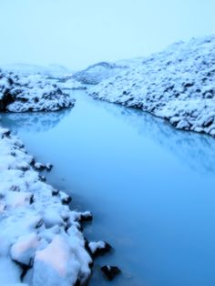 Blue lagoon...amazing milky blue geothermal waters...ahhhh, just relax