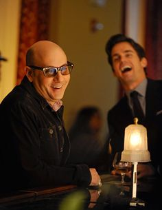 Matt Bomer & Willie Garson