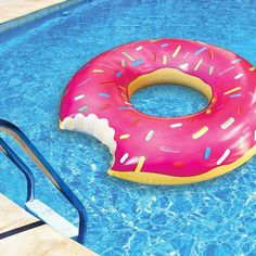 Cute donut pool float