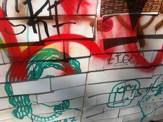 Street #Art #Vienna Wall Vienna, Street Art, Neon Signs, Wall, Walls