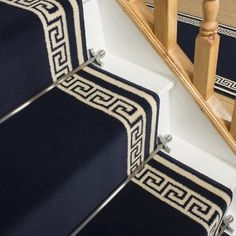 Key Grey Stair Carpet Runner - Free delivery on orders over & 30 day return guarantee from Carpet Runners UK. Grey Stair Carpet, Grey Carpet Bedroom, Beige Carpet, Shag Carpet, Black Carpet, Buy Carpet, Black Stairs, Tumblr Rooms, Quality Carpets