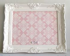 Magnet Board Shabby Chic Pink Damask Girls Vintage by ShugabeeLane, $98.00