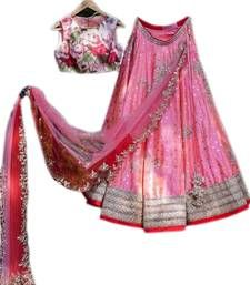 Buy Sai creationSemi-stitched silk Embroidered Blue Lehengha Choli online in India at best price.Fabric:-Silk Work:-Embroidery Style:- With Blouse Piece It's Lehenga Choli with Dupatta Disclaimer :- Lehenga Top, Lehenga Choli, Silver Color, Pink Color, Work Tops, Embroidered Silk, Silk Fabric, Color Combinations, How To Look Better