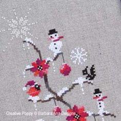 O Christmas Treecross stitch patternby Barbara Ana Designs