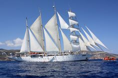 Star Clipper Off Sifnos #yachting #Greece