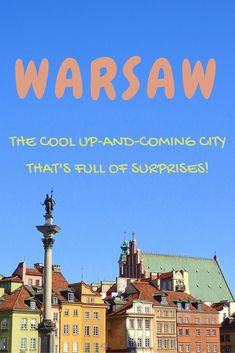 Things to do in Warsaw, Poland // A city guide to this cool up-and-coming destination that's full of surprises.