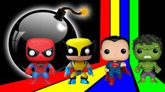 SuperHeroes Learning Colors with Surprise Eggs For Children