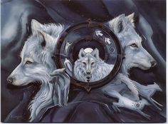 Wolf Gate by Jody Bergsma, be sure to take a look at her website, http://www.bergsma.com/ , everything there is quite lovely!