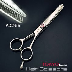 "60.00$  Watch now - http://ali8ne.worldwells.pw/go.php?t=32329861719 - ""1 X TWO-DOUBLE  5.5"""" Professional Hair Scissors, Shear + Thinner Barber Hair Cutting Scissors"""