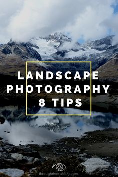 8 Tips for better Landscapes Photography. Special Beginner Photographers. Switzerland Photography | Interlaken | Lakes | Beautiful Places | Swiss Alps | Nature | Landscape Photography #landscapephotography #photographytips #beginnerphotography