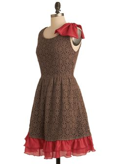 Absolutely Adored Dress | ModCloth.com. I don't need this dress, but isn't it adorable?