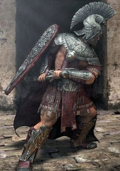 Roman Empire Crafts - One of the Trojan wars generals Fantasy Warrior, Greek Warrior, 3d Fantasy, Medieval Fantasy, Woman Warrior, Character Inspiration, Character Art, Character Concept, Spartan Warrior