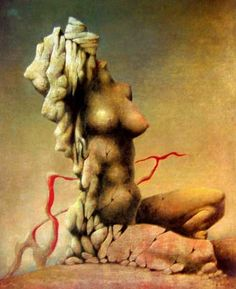František Muzika - Torso (1943) #painting #Czechia #art #CzechArt #surrealism
