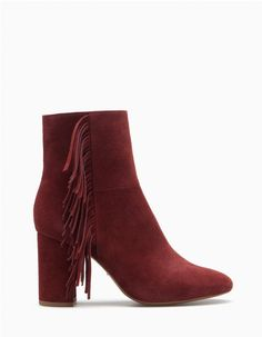 At Stradivarius you'll find 1 High heel ankle boots with fringing for woman for just 119 Lv . Visit now to discover this and more BOOTS AND ANKLE BOOTS.