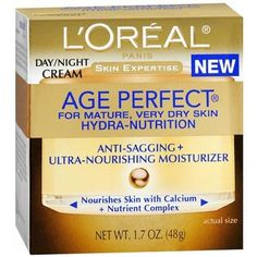 L'Oreal Age Perfect Hydra-Nutrition Day/Night Cream 1.7 oz (48 g) by Chom -- Details can be found by clicking on the image. #beautyandmakeup