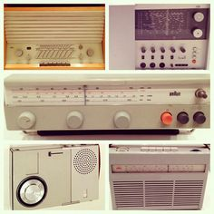 Braun mid-century radios