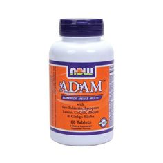 Save up to a total of 62% on Now Adam Men's Multivitamin - 60 tabs  Use MEN15 to save a further 15% on this already reduced price! Expires: March 29th, 2015