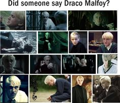 """""""Someone Say Draco Malfoy?"""" by faithsnyder ❤ liked on Polyvore"""