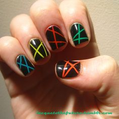 Laser disco! My Nails, Manicure, Nail Manicure, Nails