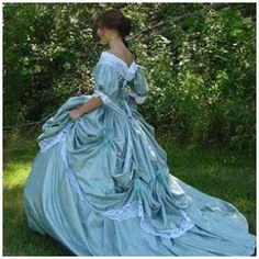 Revolutionary War Era Ball Gowns | Civil War Ball Gown (Available for sale in our shop)