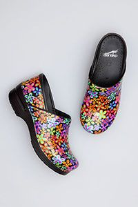 Shoes, Shoes, Shoes! The Dansko Shoe collection can be found at TMC Medical Supply and Scrubs.