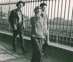 Jules et Jim, um filme de François Truffaut. 1962.