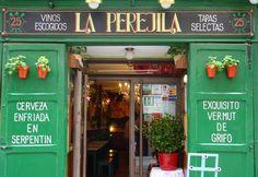 """Taverna """"La Perejila"""". Barrio de La Latina."""