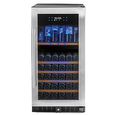 N'FINITY PRO HDX 94 Dual Zone Wine Cellar (Stainless Steel Door)