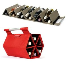 For Bobby-Folding Wine bottle bag Wine Bottle Corks, Wine Craft, Champagne Taste, Bottle Bag, Cool Inventions, Wine Making, Cool Gadgets, Give It To Me, Diy Projects