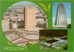 Warszawa pocztówka