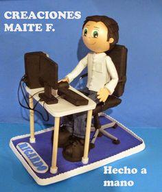 FOFUCHAS. Manualidades y Creaciones Maite: Fofuch@s Profesiones personalizados