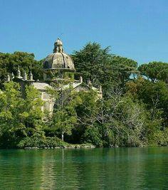 Isola Bisentina on lake Bolsena, Viterbo, Lazio