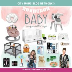 Win the #CMBNUltimateBabyRegistry from City Moms Blog Network valued at over $2,000! Baby E, Baby Family, Tummy Time, Baby Registry, Mom Blogs, Play Houses, New Moms, Baby Shower Gifts, Preschool