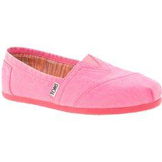9d5d8bc3615 Toms Plametto Neon Canvas Flat Shoes found on Polyvore