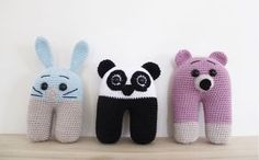 For at little one. Crochet pattern in Norwegian