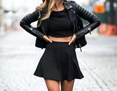 grafika fashion, black, and outfit