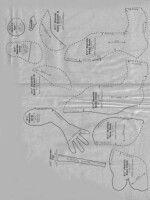"Gallery.ru / zozo7777 - Альбом ""Без названия"" Soft Dolls, Making Ideas, Projects To Try, Diagram, Album, Math Equations, Sewing, Archive, Animals"