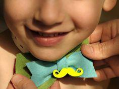 Felt bow diy made by kids Felt Bows, Diy Bow, Kids, Young Children, Boys, Children, Boy Babies, Child, Kids Part