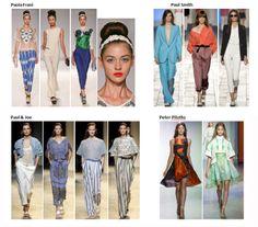 My favourite styles of Spring Summer 2014 COLLECTION apparel, shoes and make up by Paola Frani, Paul Smith, Paul & Joe, Peter Pilotto  ------- i miei preferiti della COLLEZIONE moda Primavera Estate 2014 abbigliamento scarpe accessori e trucco