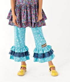 Matilda Jane Clothing ~ Paint By Numbers ~ Twinkle Lace Big Ruffle