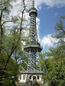 Petřín View Tower - Prague, Czech Republic