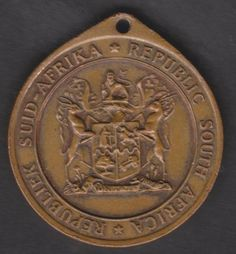 Commemorative - 1961 Bronze Medal - Republic of South Africa - 31 May 1961 for sale in Malelane (ID:284114504)