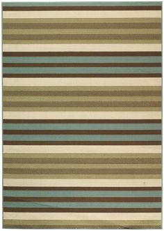 for my patio - Candy Stripe All-Weather Area Rug