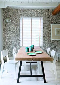 Une salle à manger d'inspiration scandinave - Marie Claire Maison #pourchezmoi