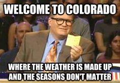1. Crazy Weather Changes