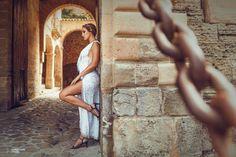 Ibiza Style  Editorial with: Anita Moreno, Barbara Hermosilla, Naiara, Petite Amie (Complements), Katindorfi MakeUp & Ivanna Mestres (dress) Ibiza Fashion, Fashion Shoot, Ibiza Style, Fashion Photography, Editorial, Studio, Makeup, Dresses, Maquillaje