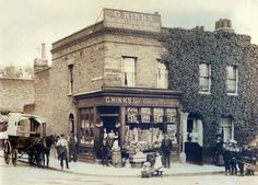 Drysdale Road, Lewisham  Drysdale Road was a street which ran south from Sparta Street in Lewisham and demolished in the 1960s.  Crossing Drysdale Road was another to-be-demolished street, Lethbridge Road. This photograph shows a shop on the corner of these streets. There was also a church in Lethbridge Road.