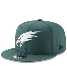 quality design 49072 4c1e9 New Era Philadelphia Eagles Logo Elements Collection 9FIFTY Snapback Cap -  Black Adjustable