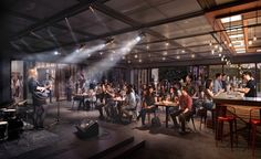 "West Kowloon Cultural District Freespace lounge, ""the platform for artists and audience to encounter, exchange ideas and explore the endless possibilities of performing arts without boundaries.""  DBOX 2016"