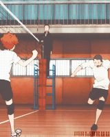 Haikyuu!!... Next time we do high 5 I'm gonna jump just like Hinata!